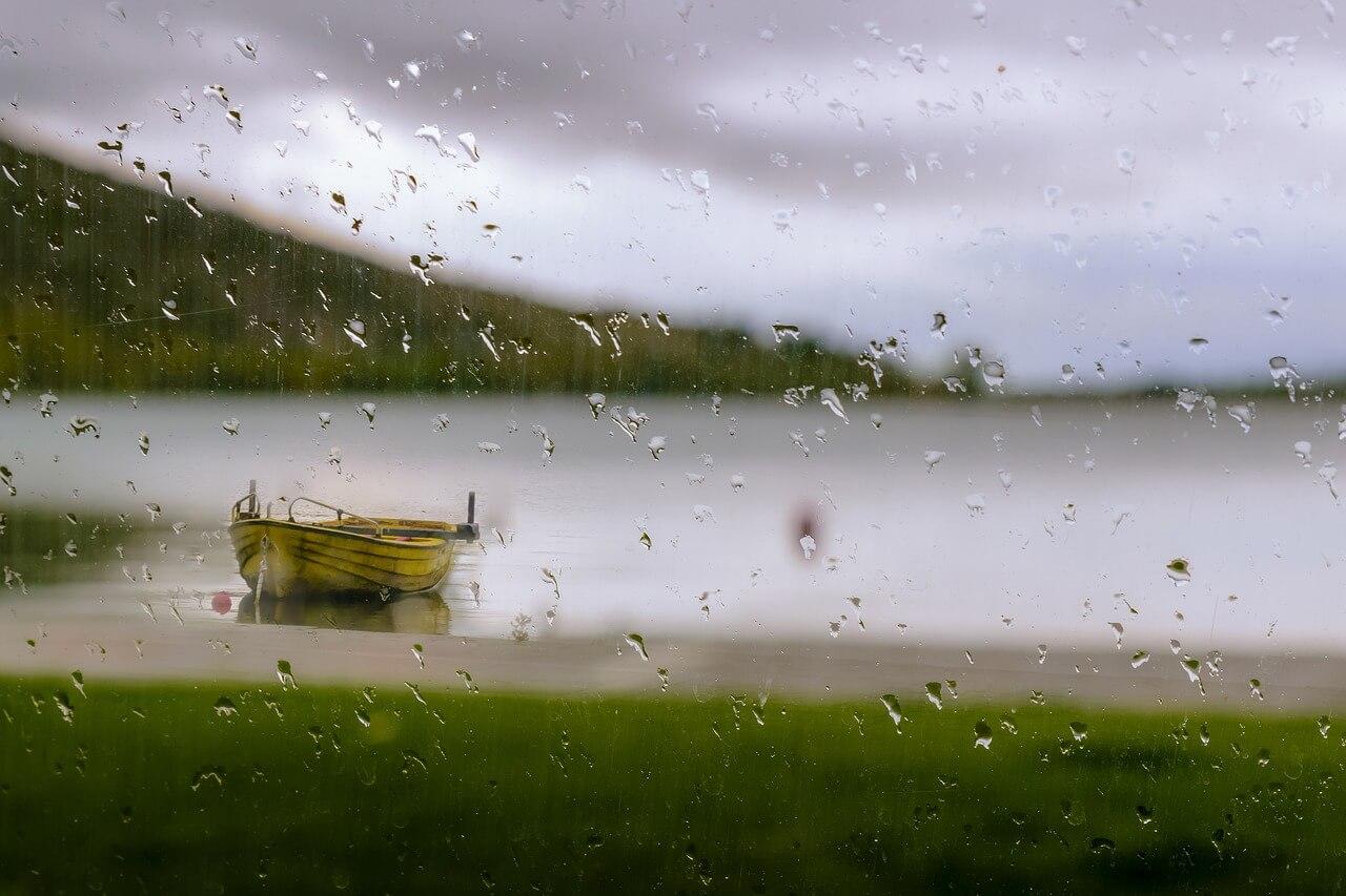 Funkar det att fiska när det regnar?